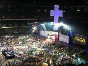 ELCA Youth Gathering in the SuperDome