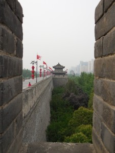 Photo: Xi'an city wall