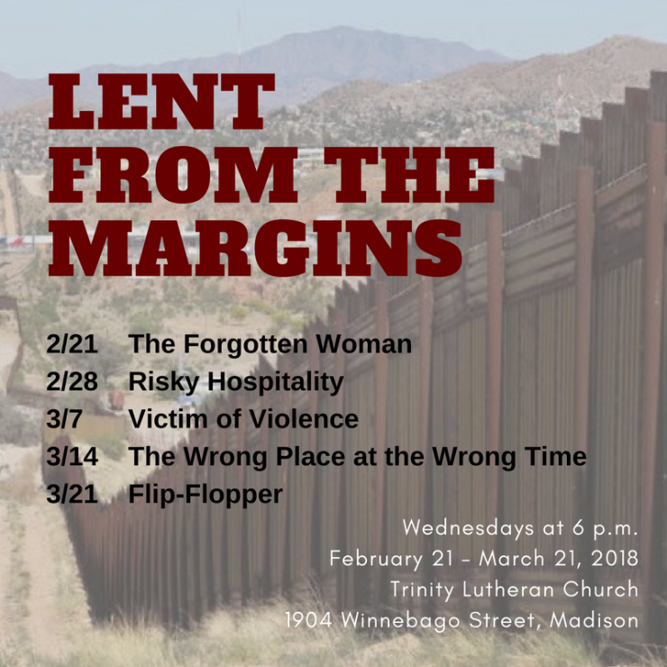 Lent from the margins 2018