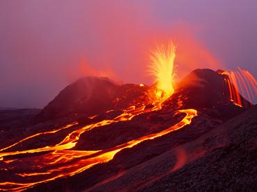 Kilauea-Volcano-Erupts